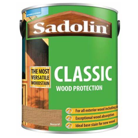 Classic Wood Protection Natural 5 Litre (SAD5028504)