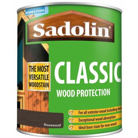 Classic Wood Protection Rosewood 1 Litre (SAD5028487)