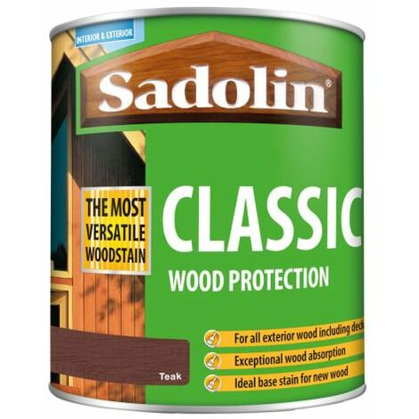 Classic Wood Protection Teak 1 Litre (SAD5028461)