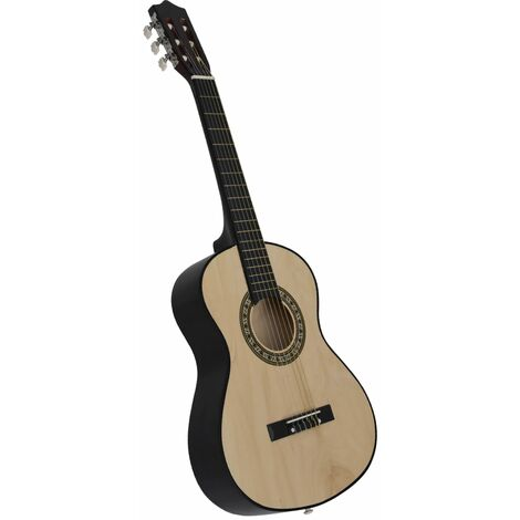 Classical Acoustic Guitar for Beginner and Kid 1/2 34 Basswood