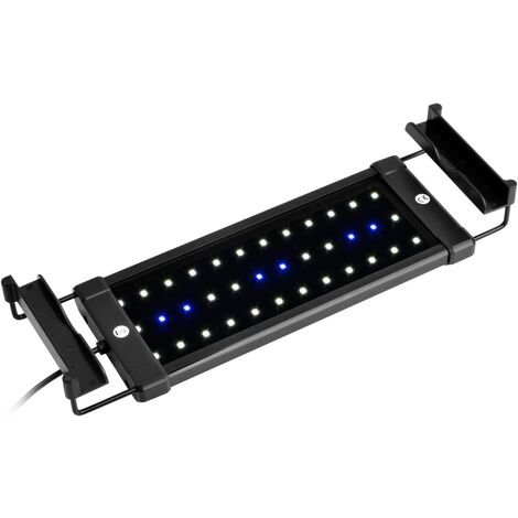 ClassicLED Eclairage Aquarium, Rampe LED pour Aquarium d'eau Douce, Lumière Aquarium Plantes, 2 Modes Lampe LED pour Aquarium, 30-48 cm, 6W, 7000K