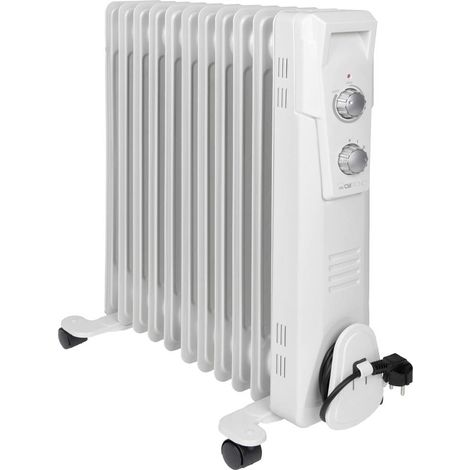 Clatronic 263908 Ölradiator RA 3737 2300W Weiß Q038212