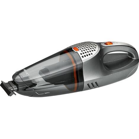 Clatronic AKS 832 - Aspiradora de mano sin bolsa recargable, batería 12 V, toma para coche
