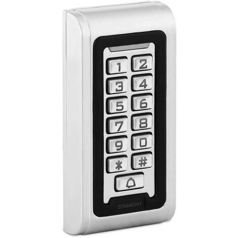 Clavier à Code Serrure Lecteur Proximité Contrôle Carte RFID Digicode WG26 IP68