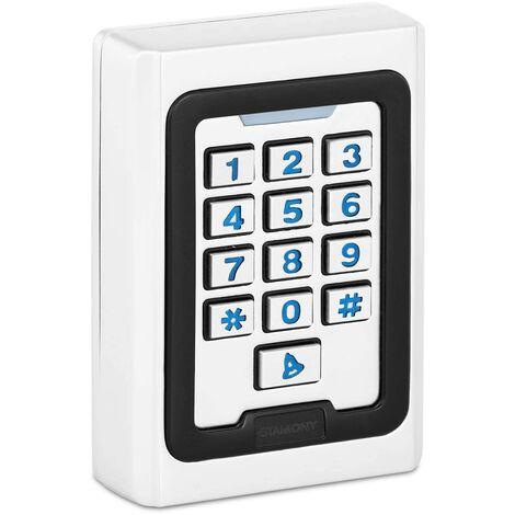 Clavier à Code Serrure Lecteur Proximité Contrôle PIN Carte RFID Digicode Alu