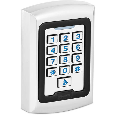 Clavier à Code Serrure Lecteur Proximité Contrôle PIN Carte RFID Digicode IP68