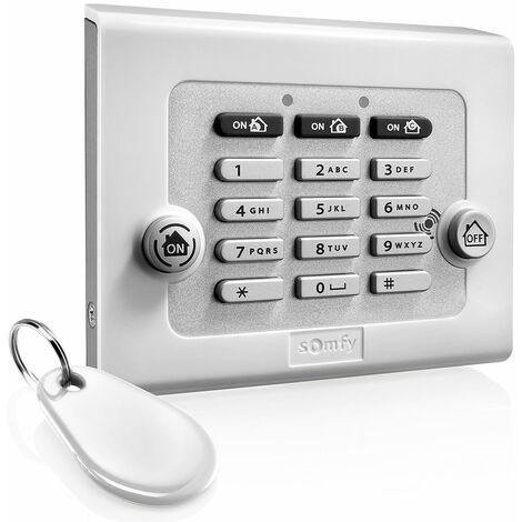 Clavier de commande avec badge Somfy pour alarme Protexiom - 2401241