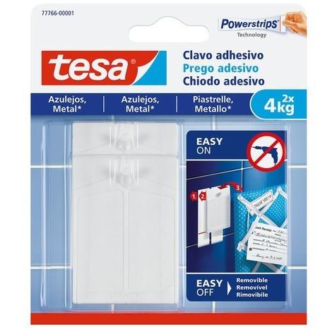 Clavo adhesivo azulejos hasta 4kg TESA