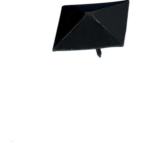 Clavo Forja C/piramide Negro - AMIG - 2-6136 - 28 MM