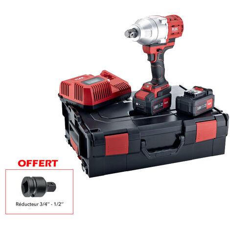 Clé à choc sur batterie IW 3/4 18.0-EC/5.0 Set FLEX - 920304