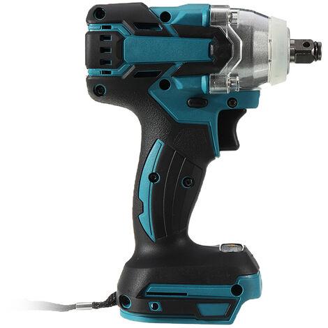 Clé à chocs électrique 1/2 po 520N.m. sans fil Brushless pour Makita Batterie 18V(Machine seule)