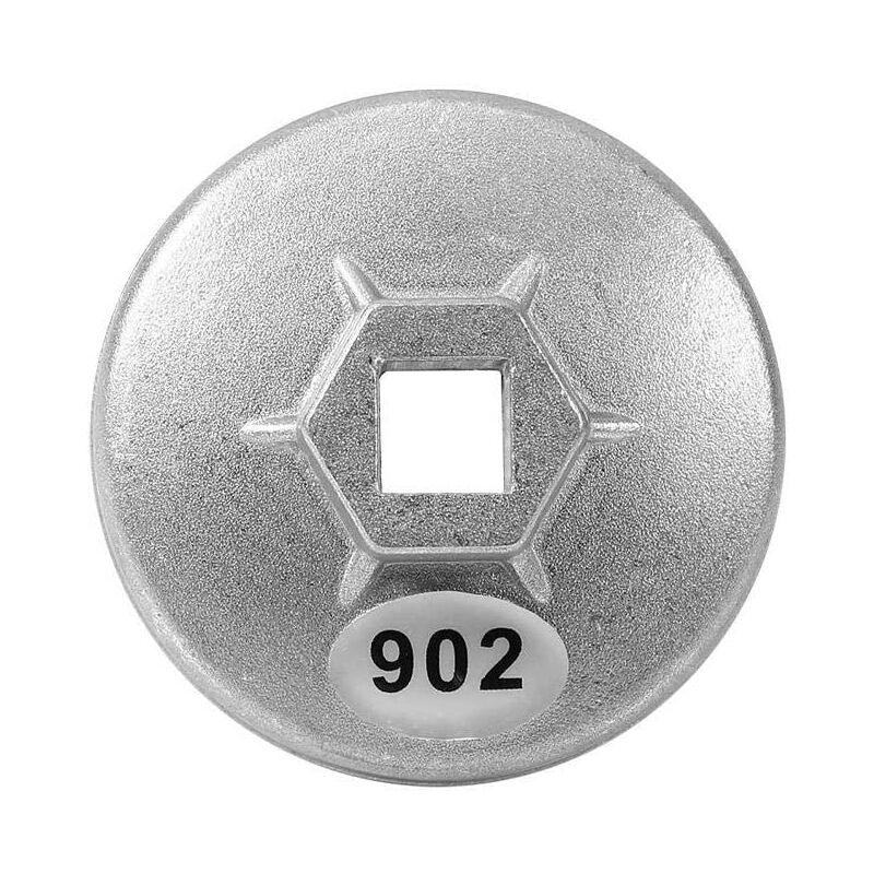 Zqyrlar - Clé à filtre à huile, 67mm 14 cannelures bouchon en aluminium clé à filtre à huile cartouche outil de suppression de prise de voiture