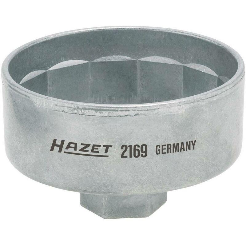 Clé de filtre à huile 12,5 mm S86 mm - Hazet