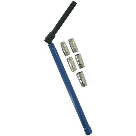 Clé de montage robinetterie h8/9/10/11/12/13 mm coque 1 pièce