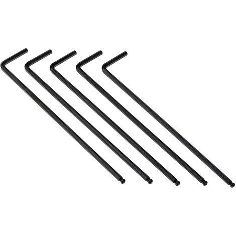 "Irwin Long Bras L en Forme De Hexagonal Allen Clé-Lot de 5-7//32/"""
