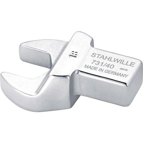 Clé plate enfichable 36mm 14x18mm STAHLWILLE 1 PCS
