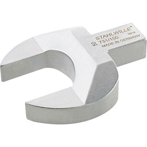 Clé plate enfichable 36mm 22x28mm STAHLWILLE 1 PCS