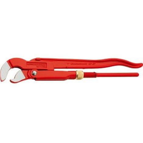 Clé serre-tubes d'angle embout S, Pour Ø de tuyaux : 2 pouces, Long. Rothenberger 540 mm, Capacité de serrage Rothenberger 65