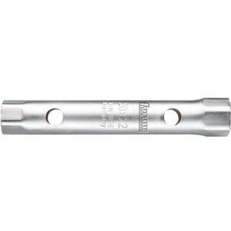 Clé tube, Cote s/plats : 36 x 41 mm, Long. 225 mm, Pour Ø de broche 18 mm