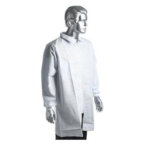 Cleanroom Disposable Labcoat,Medium
