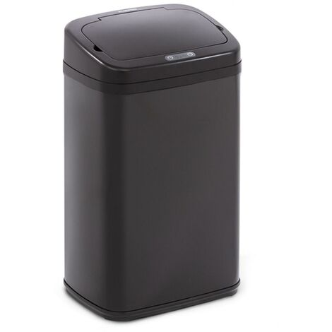 Cleansmann Waste Bin Sensor 30 Litres for Bin Bags ABS Black