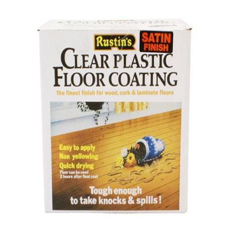 Clear Plastic Floor Coating Kits