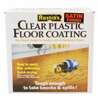 Clear Plastic Floor Coating Kits