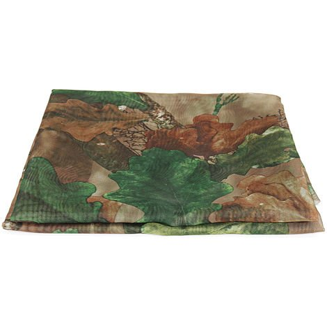 Clear View Camo Net Hide Netting Pigeon Decoy Hunting Shooting Woodland Oak