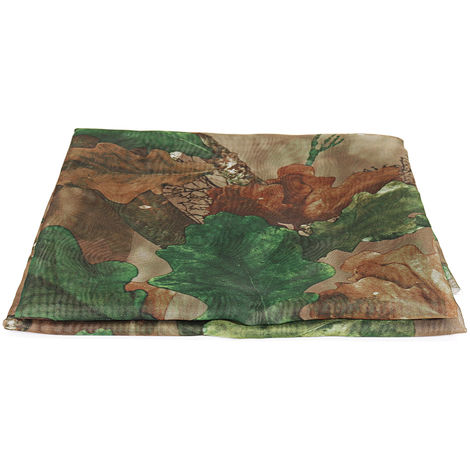 Clear View Camo Net Hide Netting Pigeon Decoy Hunting Shooting Woodland Oak Sasicare