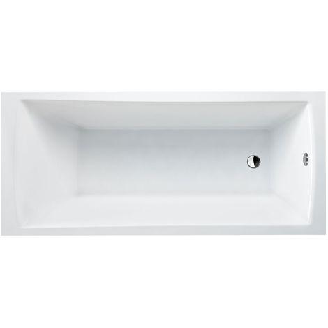 CLEARGREEN Baignoire à encastrer SUSTAIN R7 180X80 Blanc