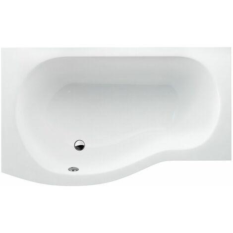 CLEARGREEN Baignoire-douche asymétrique ECOROUND R19 150X80 cm Lucite®