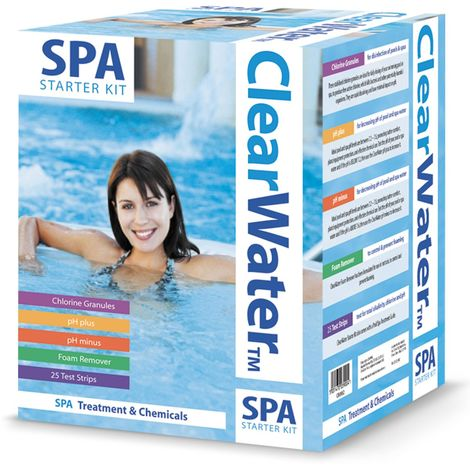 Clearwater Basic Spa Chemical Starter Set