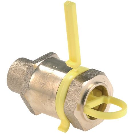 Clesse CD02067 - straight connection RC-1P-HDPE-CU mechanical clamping for HDPE to brazing Copper Tube D18