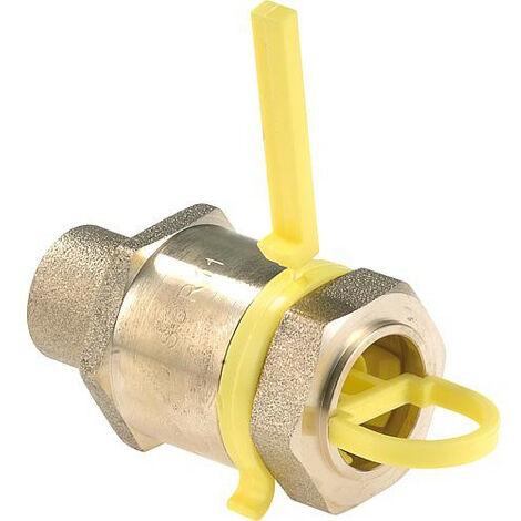 Clesse:raccord gaznaturel/propane reseau raccord droit a braser 1 piece Cal20 entreePEHD 32x3 Sortie 22x1