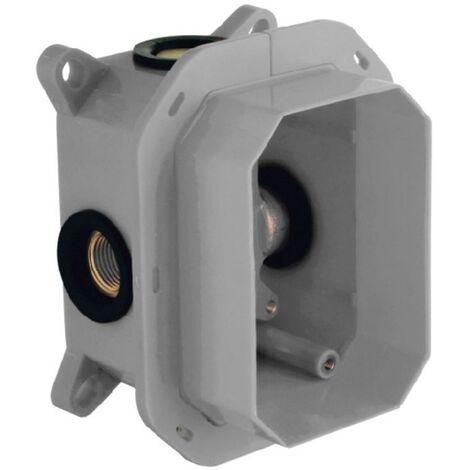 CLEVER 98711 Caja De Empotrar Para Griferia 1-2 Vias Iclever