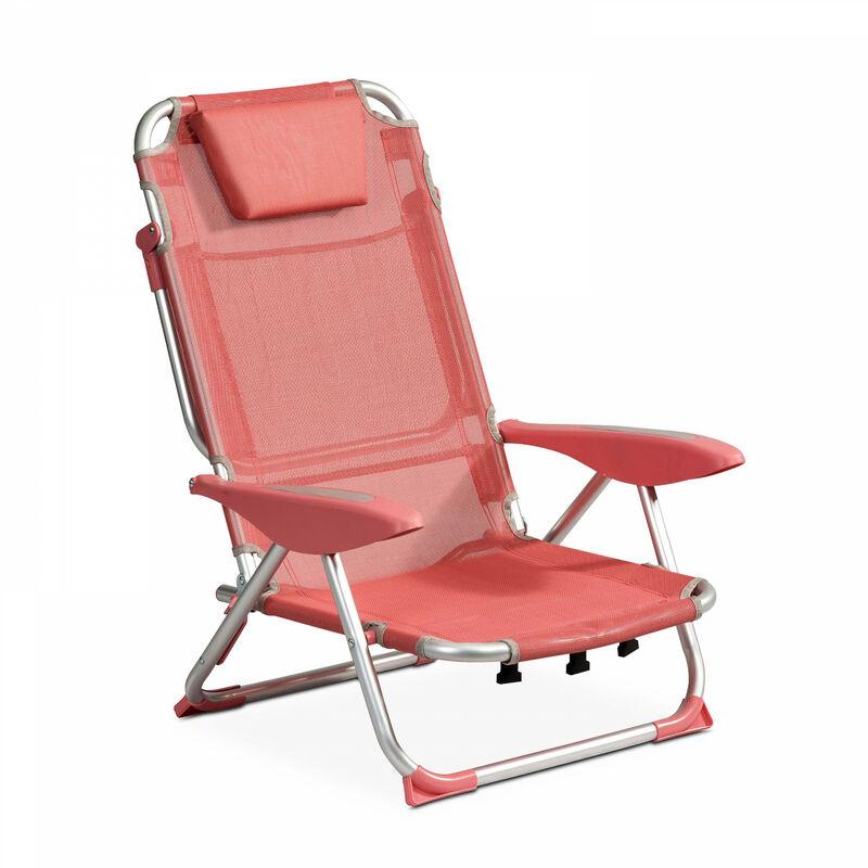 Clic clac des plages fauteuil Clic Clac des Plages - Corail - Corail
