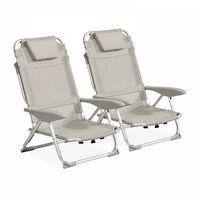 Clic clac des plages fauteuil - Lot de 2