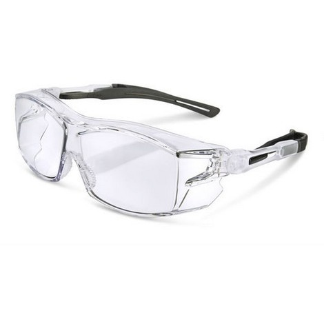 Click BBH60 Over Specs Anti Fog Soft Nose Pad Clear