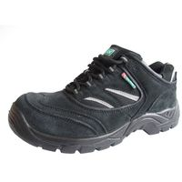 Click CDDTB06 Safety Trainer Shoes With Steel Toecap and Midsole Shock Absorbing Heel Black Size 6