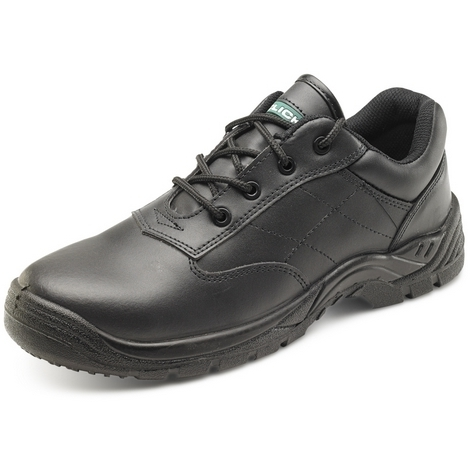 Click CF52BL11 Safety Shoes With Composite Toecap and Midsole Black Size 11