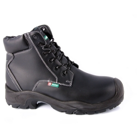 Click CF60BL06 Safety Boot PU / Rubber With Steel Toecap and Midsole Black Size 6