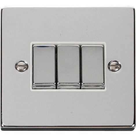Click Deco 3G 2 Way 10AX Ingot Switch (VPCH413WH)