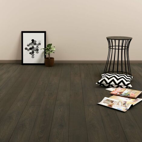 Click Floor 3.51 m² 4 mm PVC Dark Brown