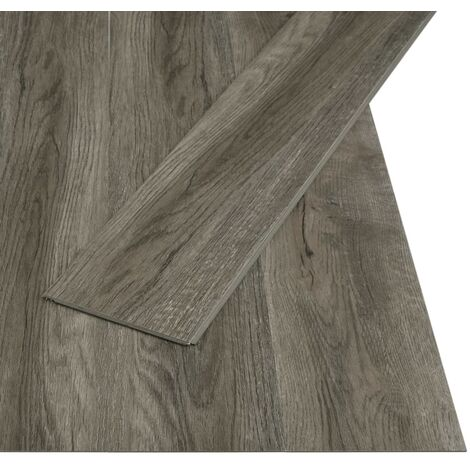 Click Floor 3.51 m² 4 mm PVC Grey and Brown