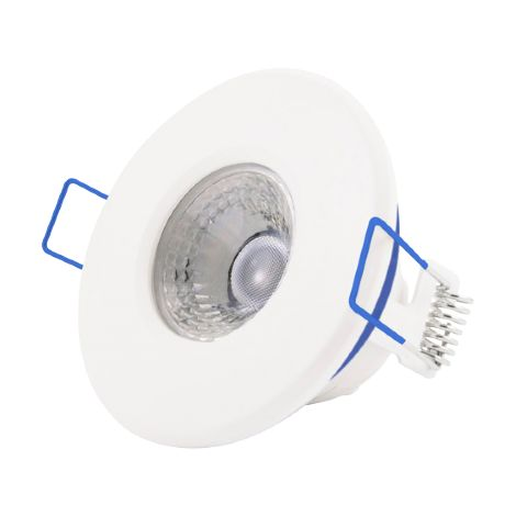 Click Inceptor Nano 5W White P65 LED Fixed Dimmable Downlight - Warm White