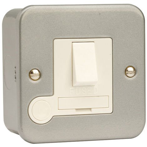 Click Metalclad 13A FCU DP Switched With Flex Out (CL051)