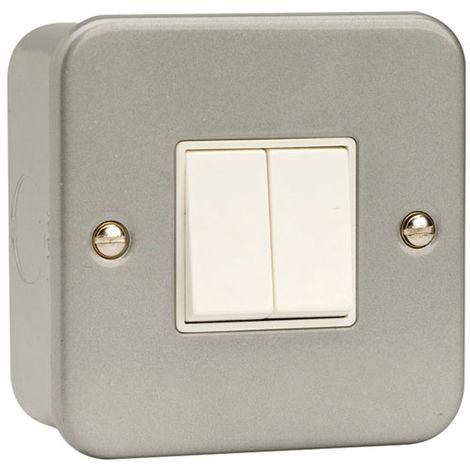 Click Metalclad 2G 2 Way 10AX Switch (CL012B)