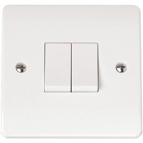 Click Mode 2G 2 Way Plate Switch (CMA012)