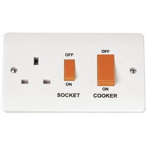 Click Mode Cooker Outlet With Power Socket (CMA204)