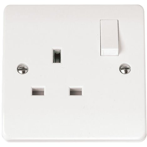 Click Mode Switched 1G 13A Socket Outlet (CMA035)